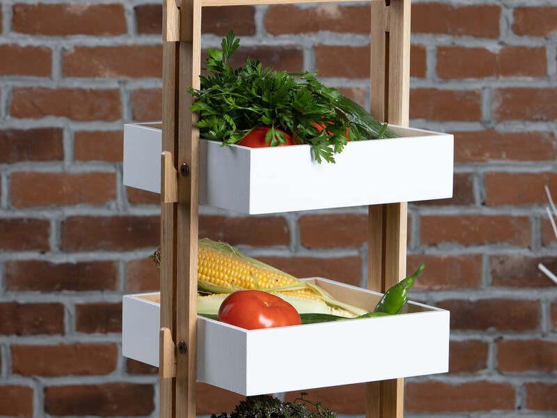 Щайга и мини етажерка - идеалния избор за декориране на Вашия дом - 2/8