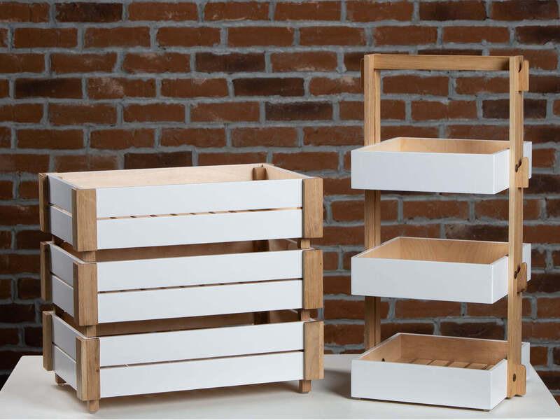 Щайга и мини етажерка - идеалния избор за декориране на Вашия дом - 5/8